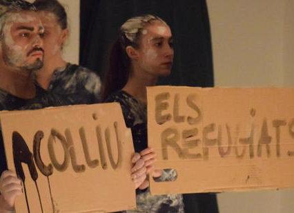 ayuntamiento de elche y fundacion elche acoge visibilizan el drama d elos refugiados